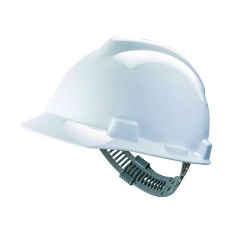 Hełm przemysłowy V-Gard HDPE, więźba Push-Key