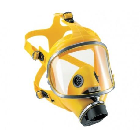 Maska pełnotwarzowa Dräger X-plore 6570 z systemem jednofiltrowym- żółta