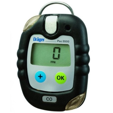Dräger Pac® 3500 Detektor/miernik/ jednogazowy Tlenku węgla