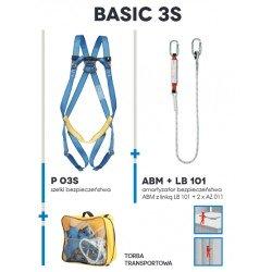 Zestaw asekuracyjny BASIC 3S