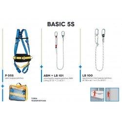 Zestaw asekuracyjny BASIC 5S