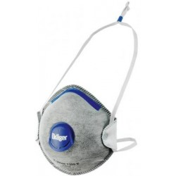 Półmaska filtrująca jednorazowa z warstwą węgla aktywnego Dräger X-plore 1330 FFP 3-V Odour NR D (Opakowanie 5szt)