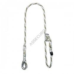 Linka bezpieczeństwa kręcona, regulowana 1,6m CL160R , CL160R GG