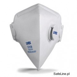 Półmaska filtrująca Uvex silv-Air c 3110 FFP1, 8733.110 / 15szt