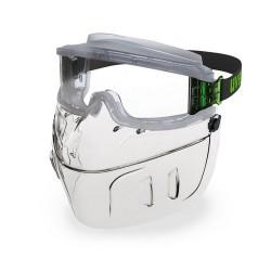 Osłona twarzy faceguard uvex 9301.555 Osłona ochronna uvex ultravision + gogle 9301.555