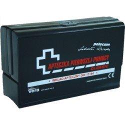 Apteczka samochodowa Classic Plus DIN13164 PLUS pudełko z tworzywa