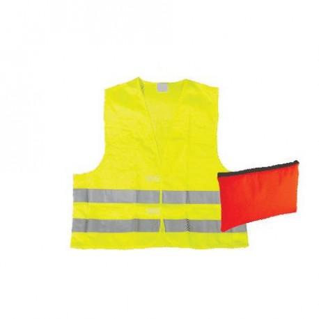Kamizelka ostrzegawcza w opakowaniu z tkaniny wodoodpornej Vera