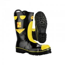 Buty Strażackie gumowe FIREMAN z wkładką niepalną