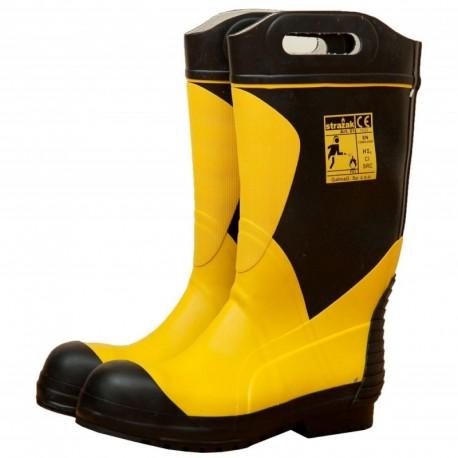 Buty Strażackie gumowe STRAŻAK 01 z wkładką niepalną