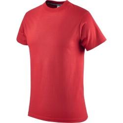T-shirt czerwony bawełniany Greenbay 471003