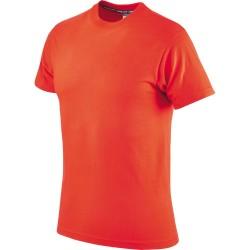 T-shirt pomarańczowy bawełniany Greenbay 471009