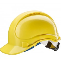 Hełm ABS E1 do pracy na wysokości żółty Newtec 131070