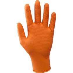 Rękawice Grease Monkey nitrylowe AQL 1.5 Boxer 393040
