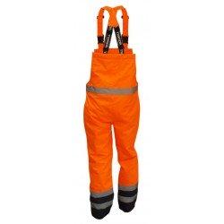 Spodnie robocze ocieplane ostrzegawcze Vizwell VWJK113BON