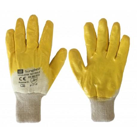 Rękawice YELLOW NITRILE