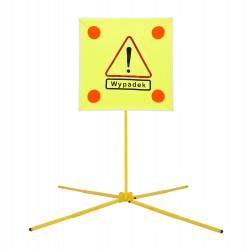 """Znak rozstawny ostrzegawczy """"WYPADEK"""" ZDR 010"""