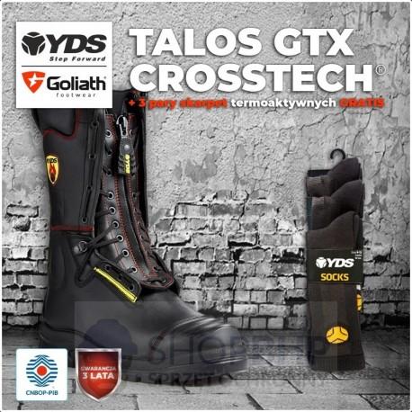 Buty strażackie YDS TALOS GTX CROSSTECH®