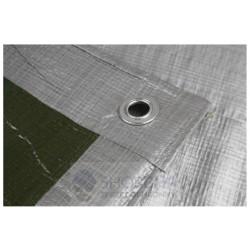 Plandeka zabezpieczająca 130g/m2 srebrna super mocna -różne wymiary