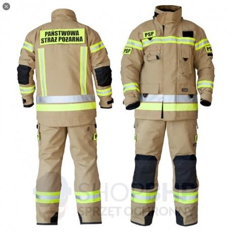 Ubranie specjalne Polen Basic GOLD 2 częściowe (kurtka i spodnie ciężkie) CNBOP OPZ